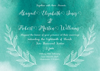Floral invite templates peterson design photography remember you can change the colors and fonts of the invitation design you like stopboris Image collections